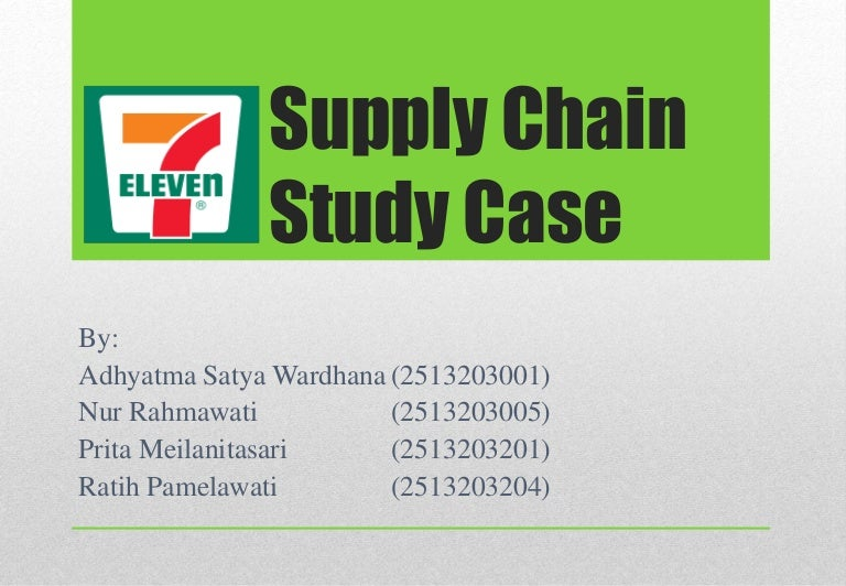 case seven eleven japan co by sunil chopra kellogg school of management Discusses the structure of the seven-eleven japan supply chain in terms of its facilities network, inventory management, distribution, and information.