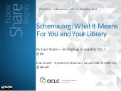 Schema.org: What It Means For You and Your Library