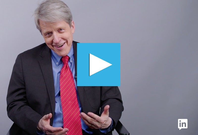 Robert Shiller: It is Not 'Evil' To Be Part of Finance