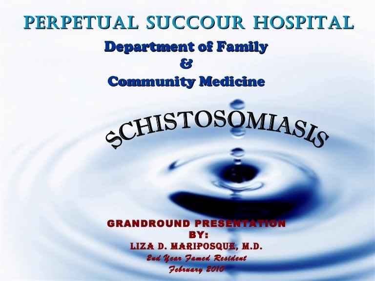diagnosztikus schistosomiasis