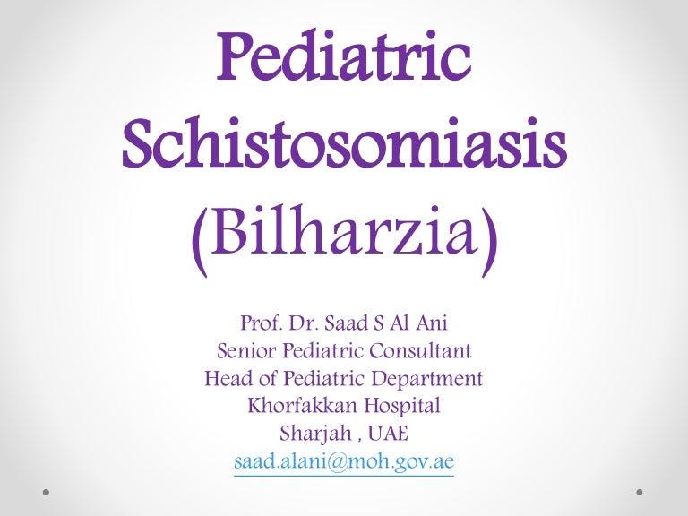 Schistosomiasis röntgen. Schistosomiasis - Hírek