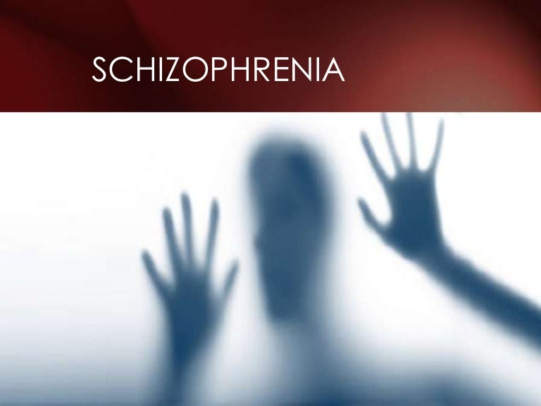 Schizophrenia ppt presentation.