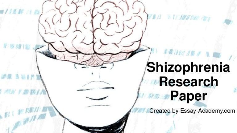 schizophrenia research paper