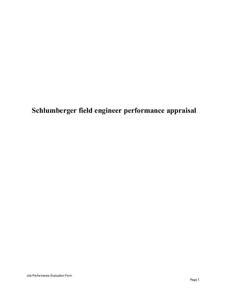 schlumbergerfieldengineerperformanceappraisal150518010608lva1app6892thumbnail4jpgcb 1431911234 – Field Engineer Job Description