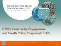 UCSF CER - Community Engagement & Health Policy (Symposium 2013)