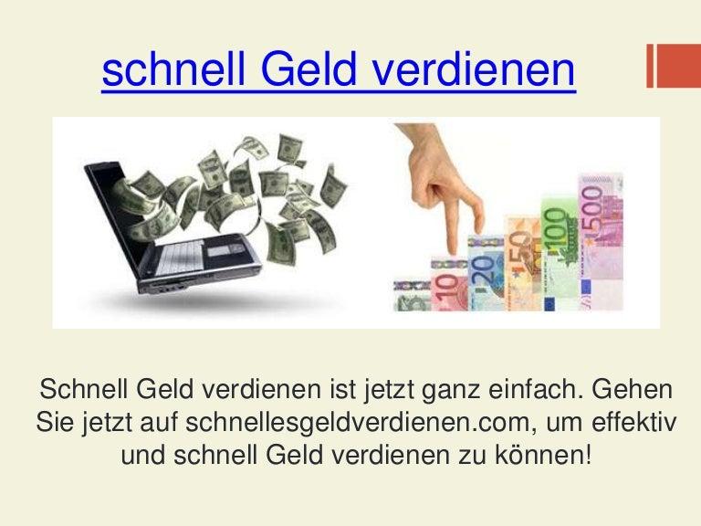 Schnell Geld Verdienen Schweiz