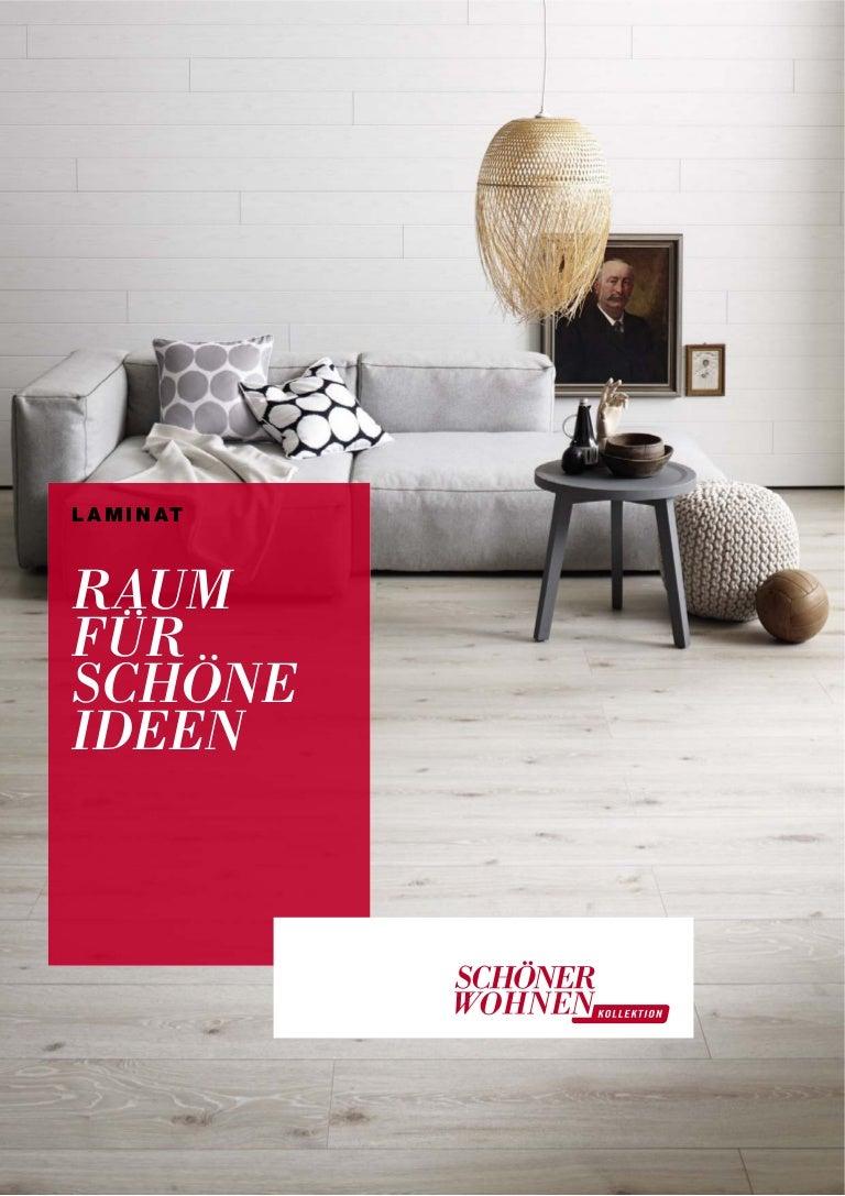 Schöner Wohnen Laminat Trend Bodenbelag Kollektion Katalog 2014
