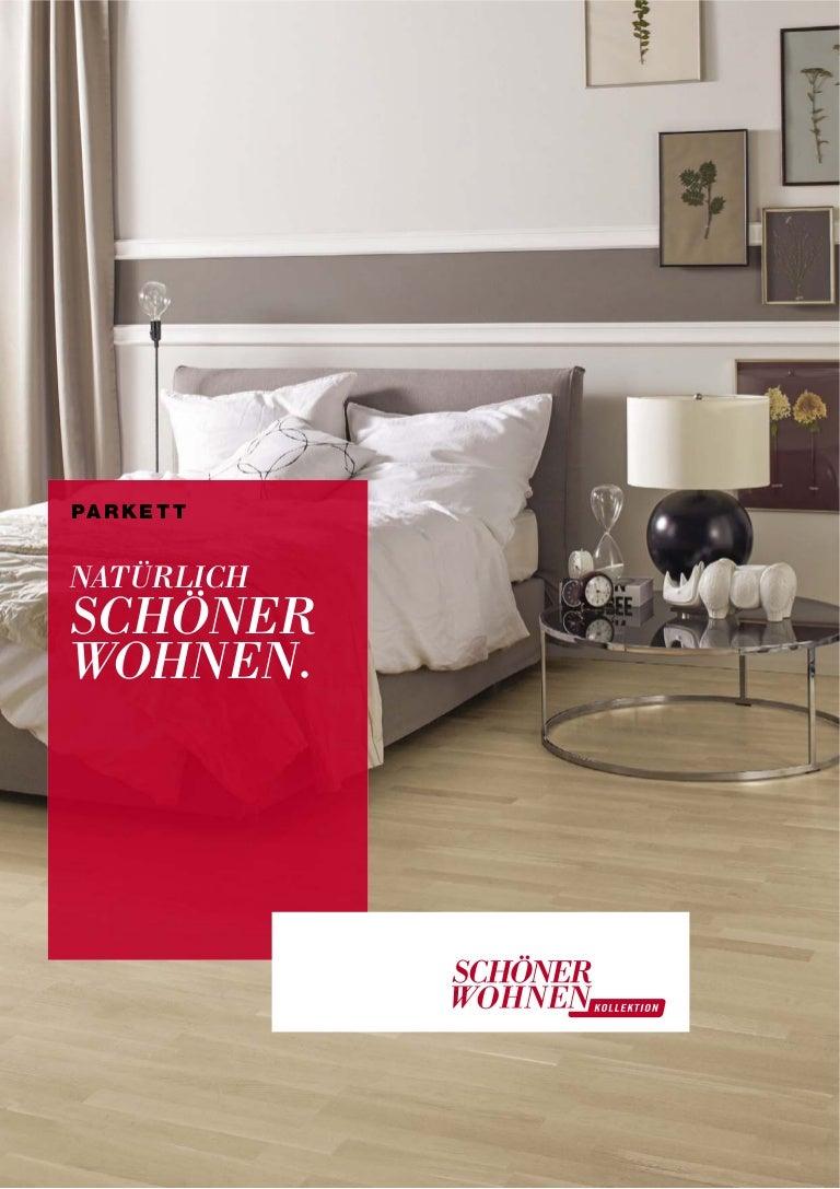 Schöner Wohnen Parkett Trend Bodenbelag Kollektion Katalog 2014
