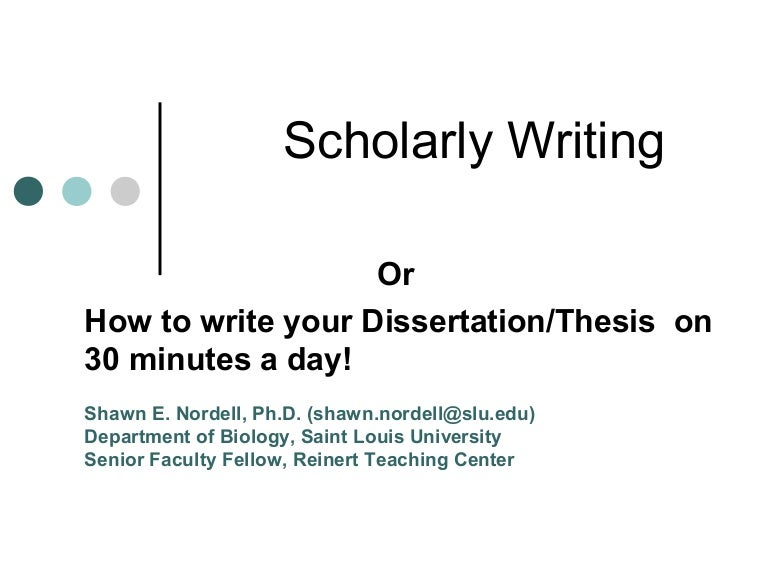 writing programs for doctorate dissertations Writing academic papers, whether a phd thesis or a paper for publication, is very challenging work but it's hard for the exact opposite reasons you may think.