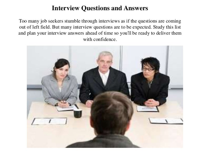 scholarship interview questions and answers pdf