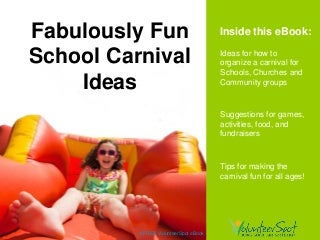 School Carnival Games & Ideas - Fabulously Fun