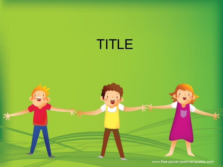 Children Powerpoint Background And Ppt Template For Early Childhood E