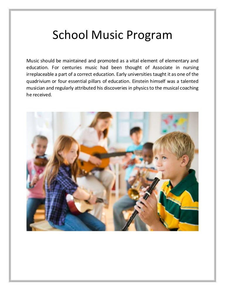 School music program