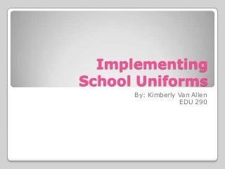 Simple essays about school uniforms