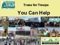 Five Ways to Support Trees for Troops