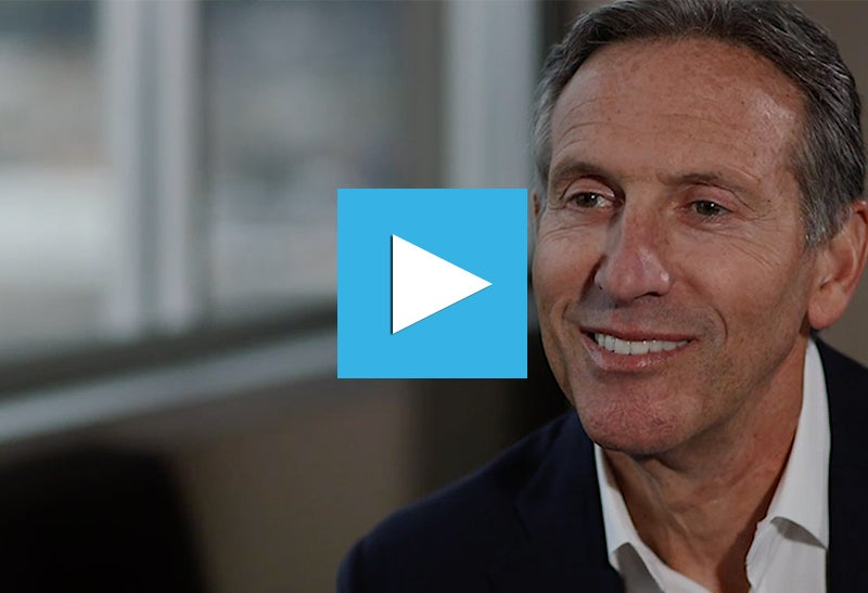 "Howard Schultz: ""The Role of Public Companies Has Changed Because of the Lack of Leadership in Washington"""