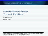 4th Federal Reserve District Economic Conditions