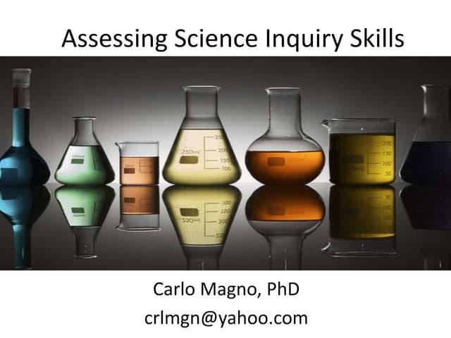 Assessing Science Inquiry Skills