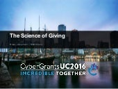 Science of Giving - CyberGrants Conference