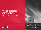 Science of Giving - Shift Philanthropy Webinar