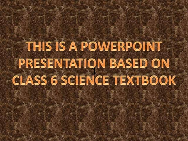 Science presentation made by ayush dabra