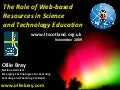 Curriculum for Excellence, Science, Change and New Technologies (SSERC Conference 2009)