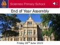 Sciennes End of Term Assembly 2019