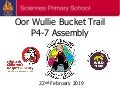 Sciennes Oor Wullie Bucket Trail Launch 22.2.19