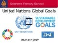 Sciennes United Nations Sustainable Development Goals 8.3.19