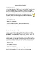 Nemo Themed Lab Safety and Scientific Method Practice Sheets