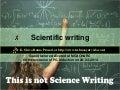 Scientific writing mgach&rc