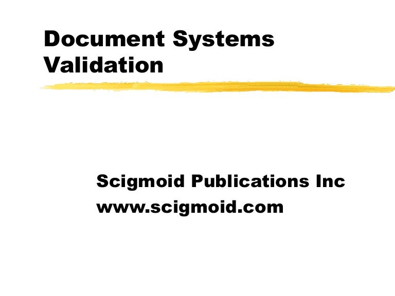 Scigmoid Publications