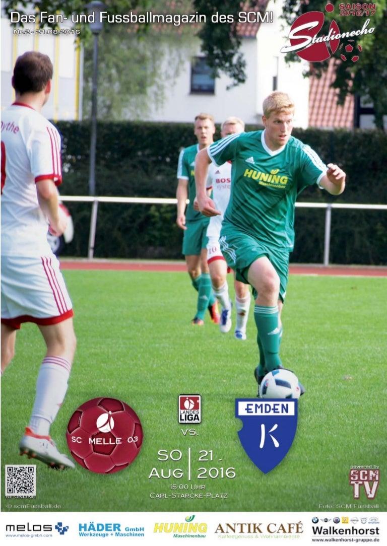 Sc Melle 03 Stadionecho Scm Gegen Bsv Kickers Emden