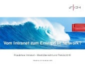 Vom Intranet zum Enterprise Network?