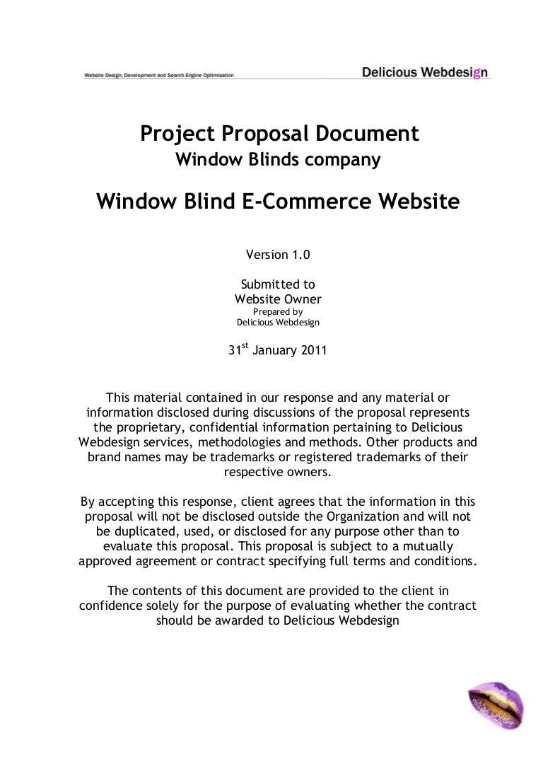 scope of services agreement template - scope proposal ecommerce website