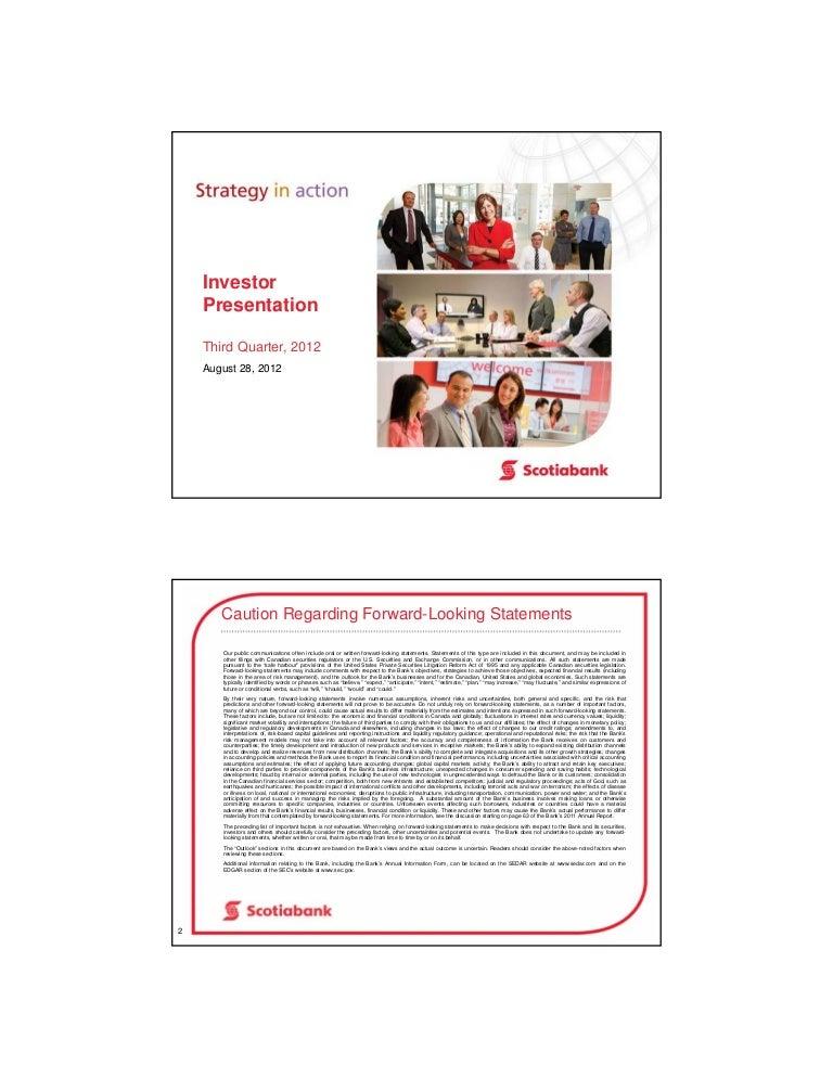 Scotiabank Investor Presentation