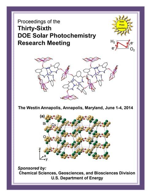 Scott Spurgeon Nada 2014_Solar_Photochemistry_Abstract_Book