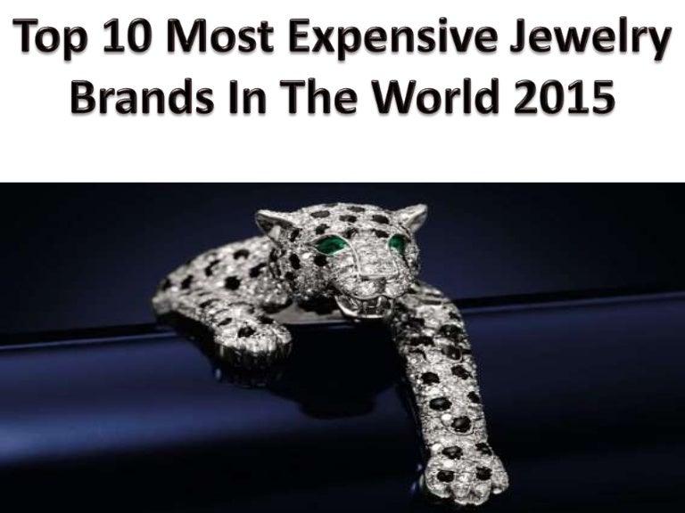 Scott Tischler Top 10 Most Expensive Jewelry Brands In
