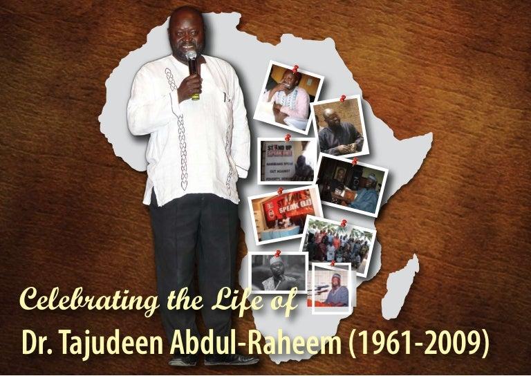Tajudeen Abdul-Raheem