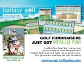 Fantasy Golf scratch off cards are  #1 golf fundraiser on the market today!