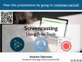 Screencasting Using Free Tools
