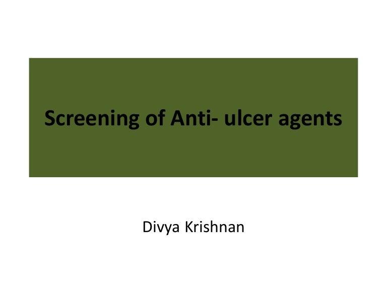 Preclinical screening of anti ulcer drugs.