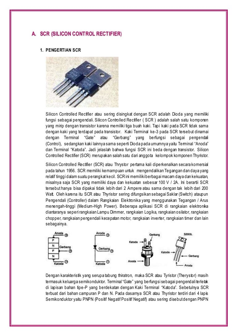 Scr Ujt Triac Diac Lascrlight Activated Electronic Circuits And Diagram