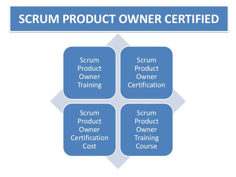 Scrum Product Owner Certified 1 844 528 4481 Course Online Cost