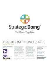 Strategic Doing Practitioner's Conference | May 2016