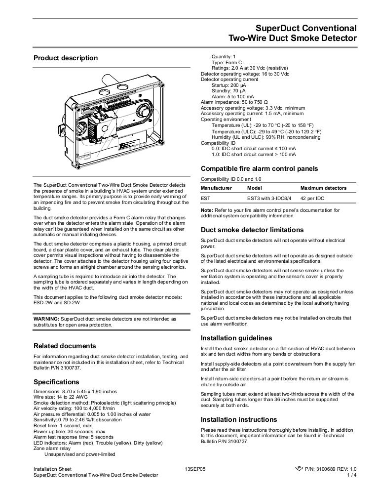 sd2w 150526143235 lva1 app6892 thumbnail 4 duct detector wiring diagram dolgular com Siemens 540 100 Wiring Diagrams at readyjetset.co
