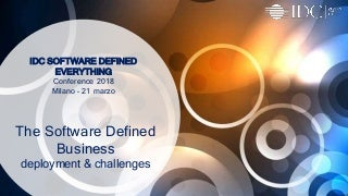 The Software Defined Business