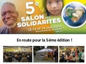 29 Avril 2014 - Conference de presse Salon Des Solidarites 2014