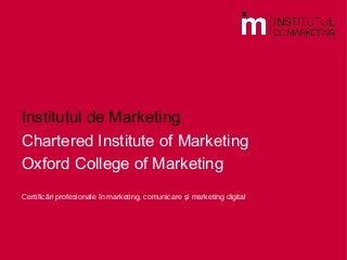 Cum iti cladesti o cariera internationala in marketing?