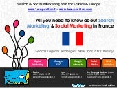 Search marketing & Social Marketing Statistics France